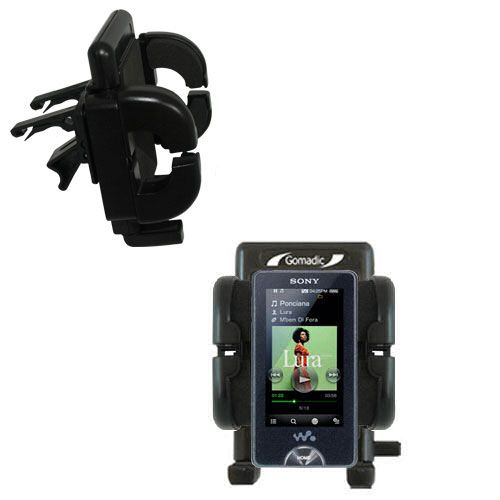 Gomadic Air Vent Clip Based Cradle Holder Car / Auto Mount suitable for the Sony X Series - Lifetime Warranty
