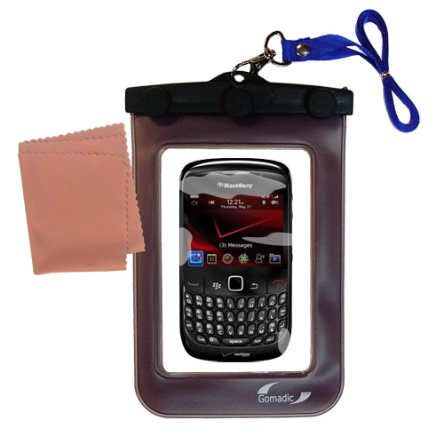 Gomadic clean and dry waterproof protective case suitablefor the Blackberry Bold 9650  to use underwater - Unique Floating Design