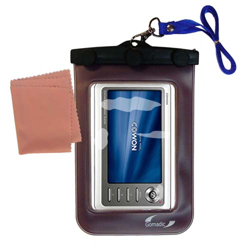 Waterproof Case compatible with the Cowon iAudio A2 Portable Media Player to use underwater
