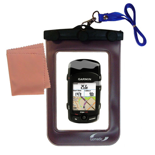 Waterproof Case compatible with the Garmin Edge 705 to use underwater
