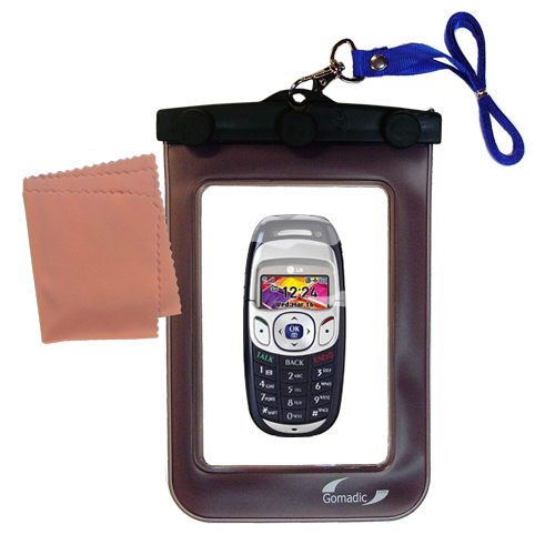 Waterproof Case compatible with the LG PM-325 / PM 325 to use underwater