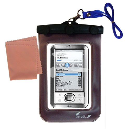 Waterproof Case compatible with the Palm LifeDrive to use underwater