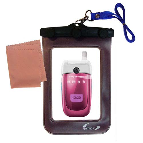 Waterproof Case compatible with the Sony Ericsson z310i to use underwater