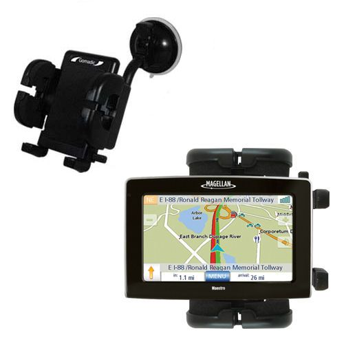 Windshield Holder compatible with the Magellan Maestro 4250