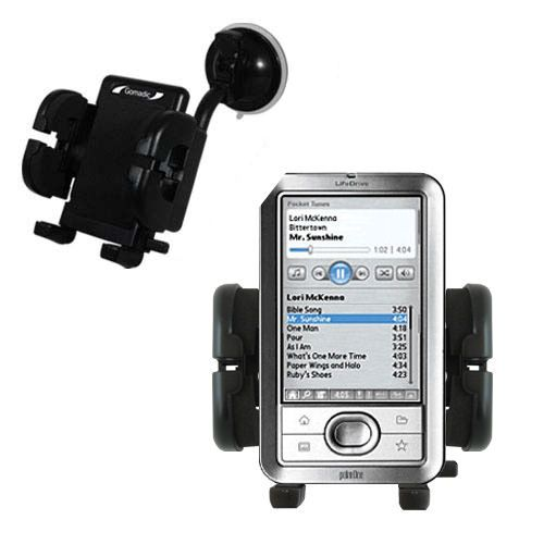 Windshield Holder compatible with the Palm LifeDrive
