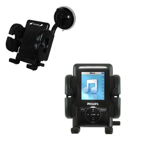 Windshield Holder compatible with the Philips GoGear SA3125/37