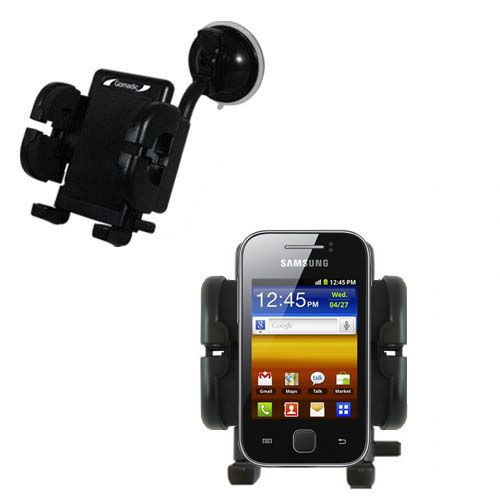 Windshield Holder compatible with the Samsung Galaxy Y