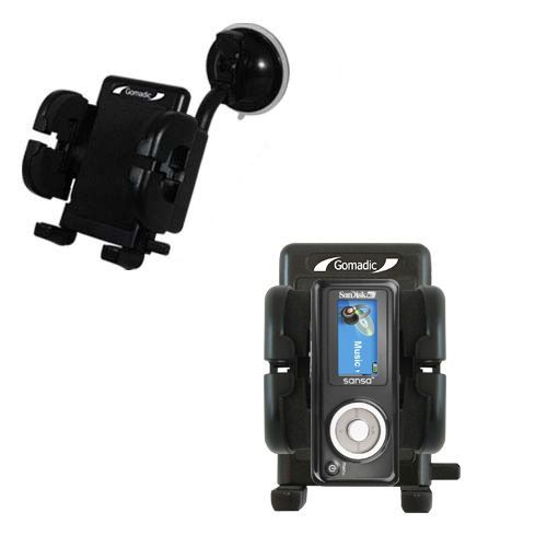 Windshield Holder compatible with the Sandisk Sansa c100