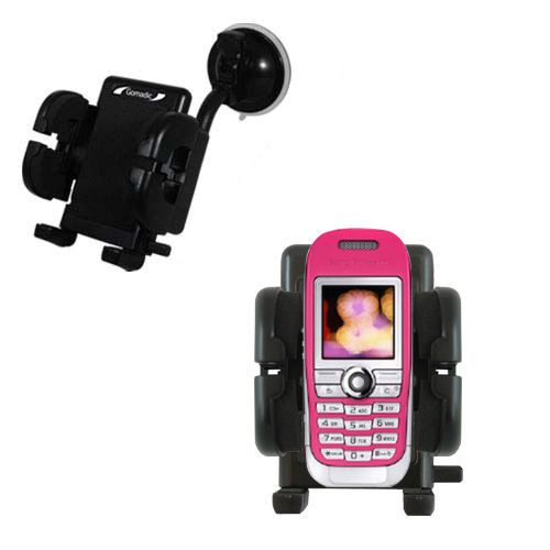 Windshield Holder compatible with the Sony Ericsson J300c