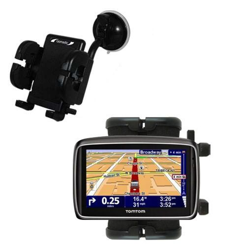 Windshield Holder compatible with the TomTom 740