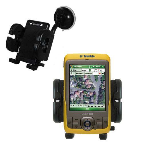Windshield Holder compatible with the Trimble Juno SB