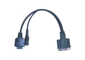HP iPAQ Serial Adapter Cable w/Power (P/N ISC-22)