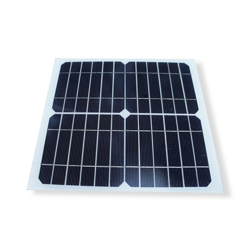 Frameless 10W Monocrystalline Solar Panel with Durable Tempered Glass